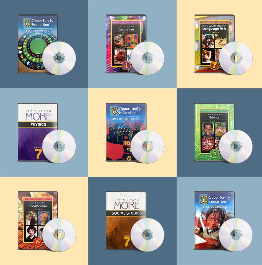 Primary Program DVD Collage