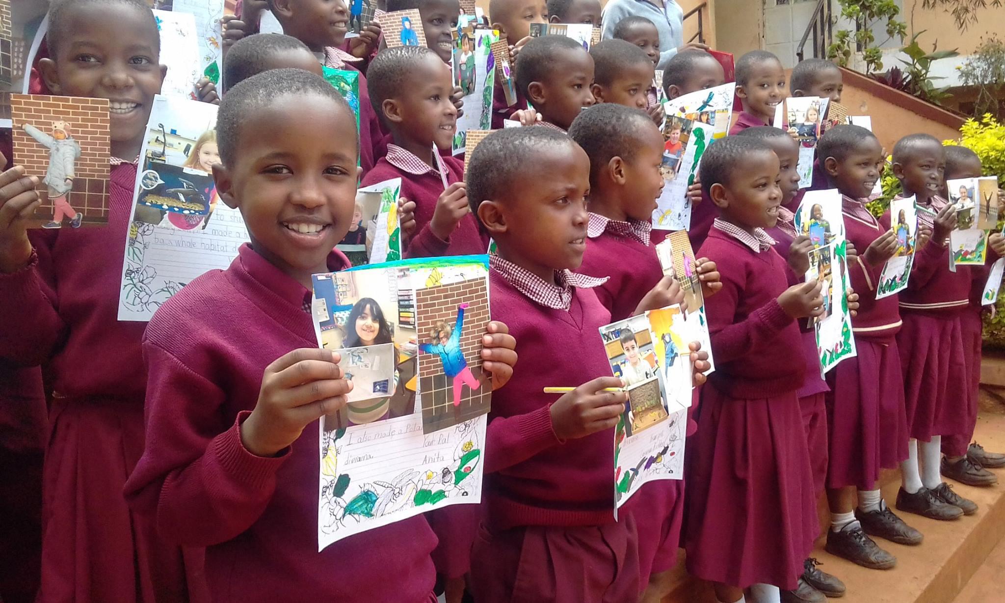 Sister School Program students in Tanzania