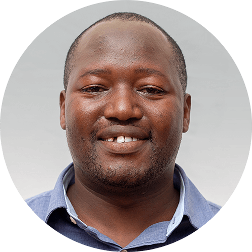 Boaz Msechu, a quest designer for Opportunity Education Tanzania