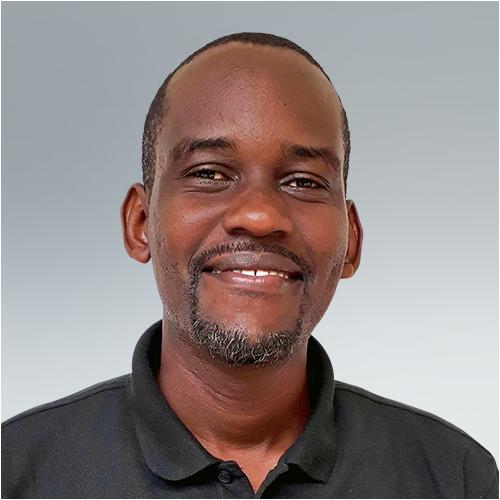 Dickson Hezron, a team member for Opportunity Education Tanzania