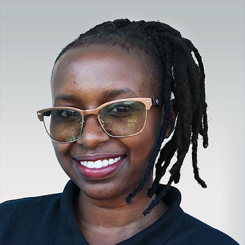 Eligrania Lema, a team member at Opportunity Education Tanzania