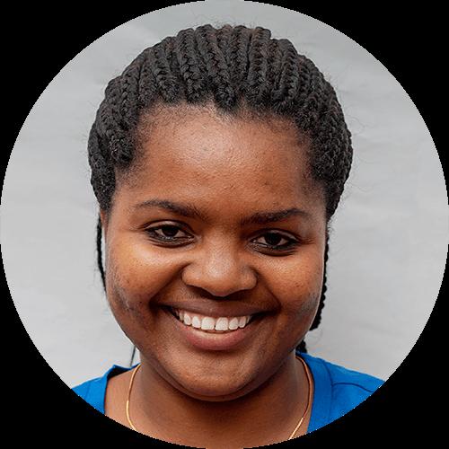 Felister Mndasha, a quest designer for Opportunity Education Tanzania
