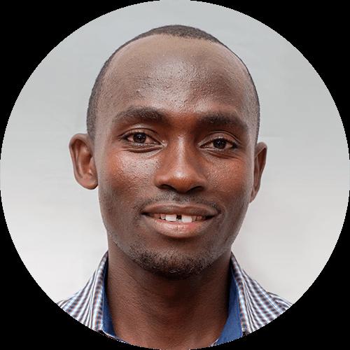 Godbless Mosha, a quest designer for Opportunity Education Tanzania