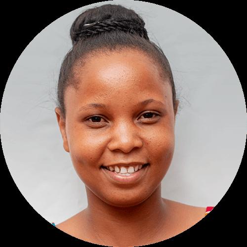 Hosiana Mmanyi, a quest designer for Opportunity Education Tanzania