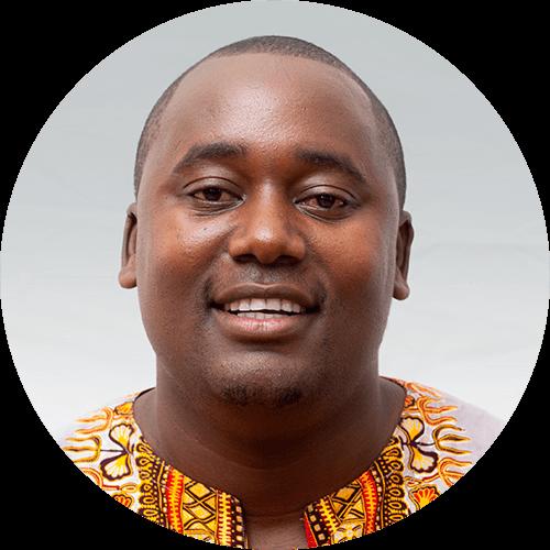 Kerbin Mongi, an English quest designer for Opportunity Education Tanzania
