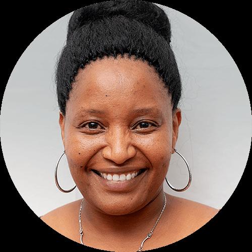 Rahabu Kimaro, a quest designer for Opportunity Education Tanzania